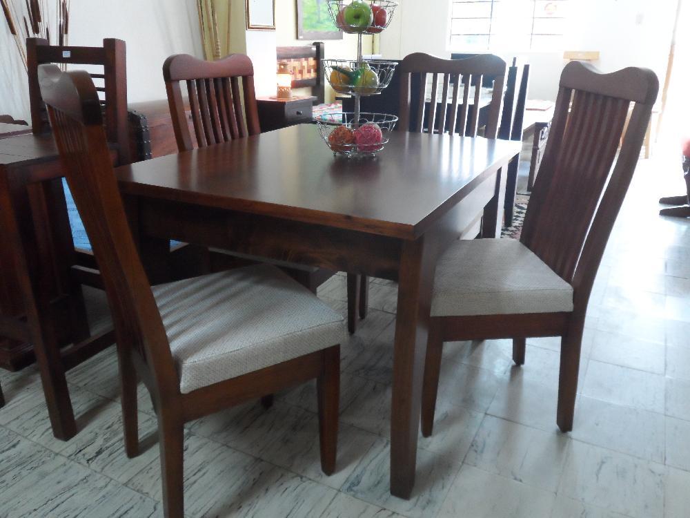 Muebles asopepe el retiro for Comedores de madera y vidrio
